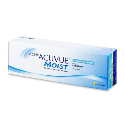 1 DAY ACUVUE MOIST FOR ASTIGMATISM 30 LENTILE