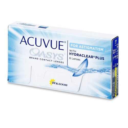 ACUVUE OASYS FOR ASTIGMATISM 6 LENTILE