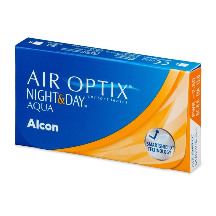 AIR OPTIX NIGHT and DAY 3 LENTILE