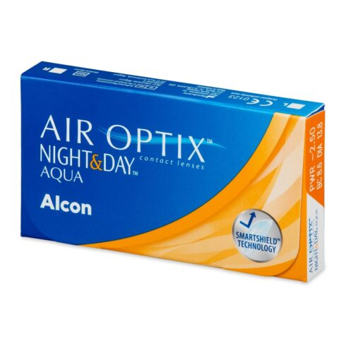 AIR OPTIX NIGHT and DAY 6 LENTILE
